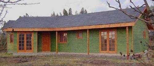 Casas prefabricadas frau modelo cordillera 105mt2