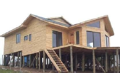Casas prefabricadas frau modelo zapallar 90mt2