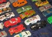 Colección autos miniatura liquido