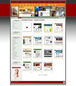 E-power. diseño sitio web administrable profesional