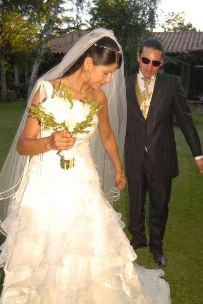 Vendo vestido de novia diseñadora millaray palma