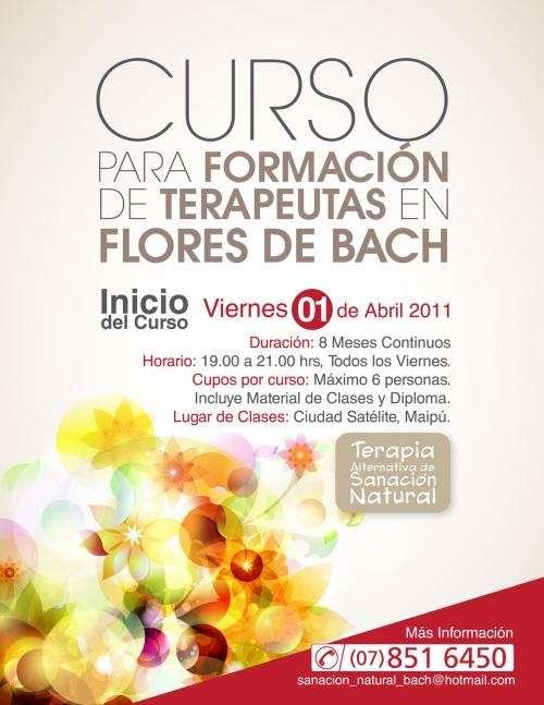 Curso formación de terapeuta en flores de bach