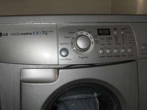 Lavadora Secadora Lg Intello Washer Dd 7kg Carga Frontal