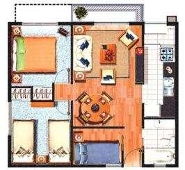 Arriendo departamento nuevo centro de temuco $180.000