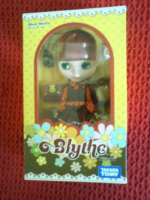 Se vende muñeca blythe takara. mod molly original.