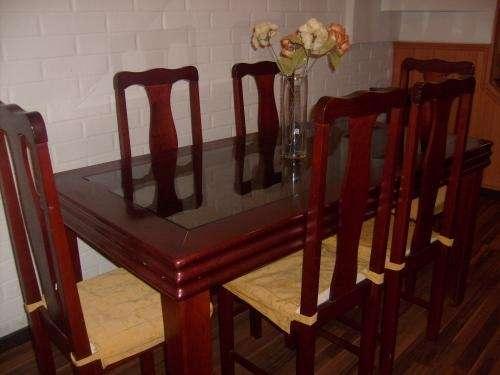 Vendo comedor de madera y mesa para telefono en Región Metropolitana ...