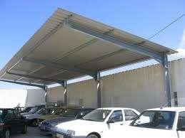 Cobertizos para estacionamientos