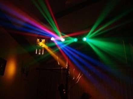 Anima tus cumpleaños, matrimonios, fiestas, con equipos de iluminacion de alta calidad.