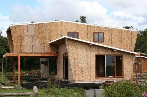 Panel sip tp, cabañas, casas, envolventes termicos