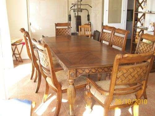Vendo juego comedor madera sólida en Antofagasta - Muebles | 311680