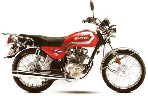 Moto sanya año 2008