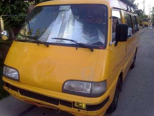 Arriendo furgon amarillo solo transportistas