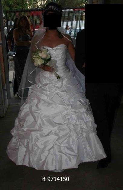 vestido de novia casa blanca - zapatos y bolero hermoso en santiago