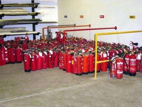 Extintores compro todo tipo de extintores fono 2625054