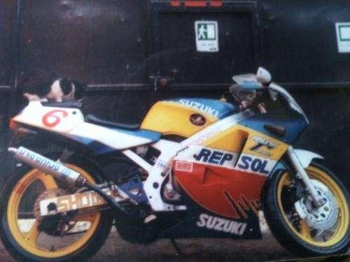 Vendo moto rgv 250 suzuki 1990