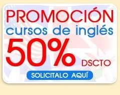 Promocion inglés 50% descuento