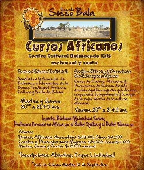 Danza africana 2011- tambores en vivo
