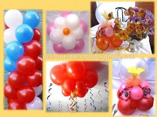 Decoraciones con globos todo tipo de eventos