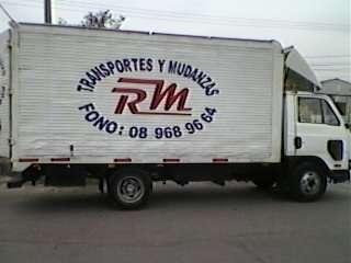 Transportes y mudanzas rm a su servicio