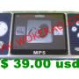 mp3, mp4 NUEVO $ 39.00 usd