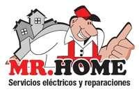 Mr. home, electricistas a domicilio. reparaciones eléctricas.