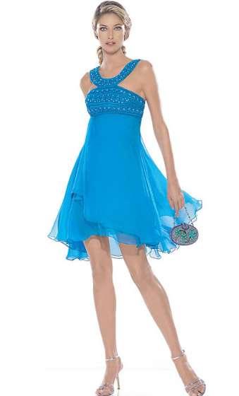 Fardos de ropa vestidos de fiesta