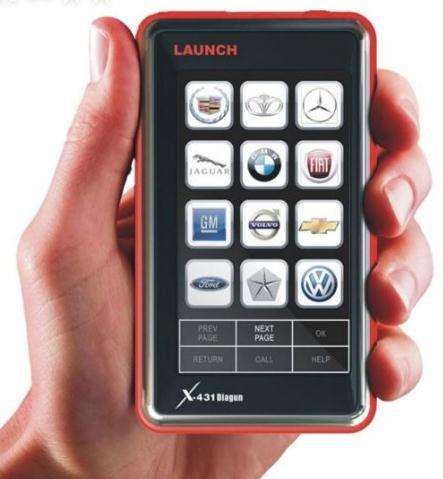 Launch diagun x431 original: lider en el mercado ( actualizacion gratis via internet )