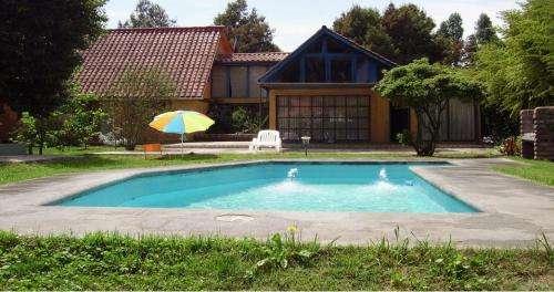 Arriendo parcela privada con piscina
