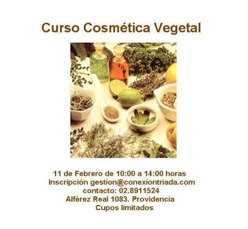 Curso de cosmética vegetal