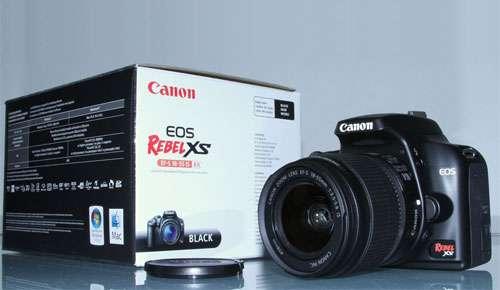 Camara fotografica canon rebel xs (1000d)