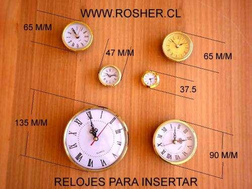 Reloj para insertar especial para artesania por mayor ... relojes, pilas, baterias, microbaterias, prensas, pinzas, lupas, pulseras, pasadores, cristal, pasadores, modulos, reloj mural,mecanismo para