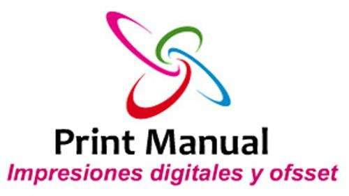 Impresiones digitales tarjetas de visita,manuales