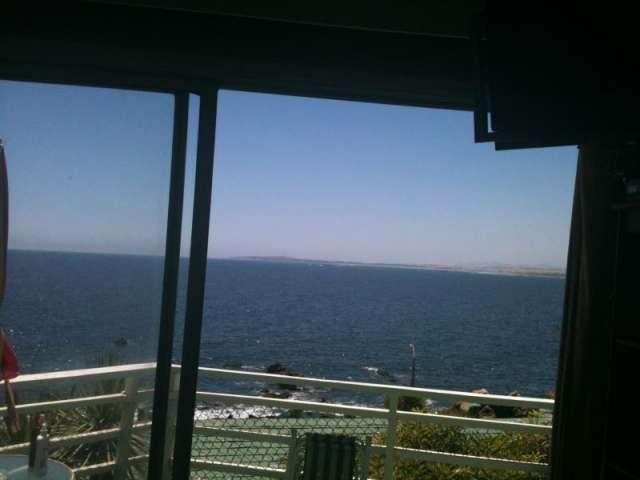 Terraza vista al mar