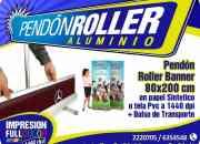 PENDONES  ROLLER  BANNER  Grafica24 Ltda