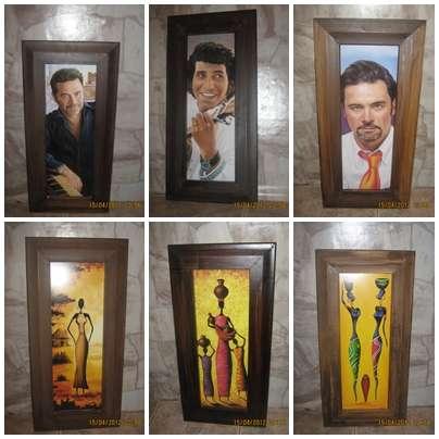 Vendo cuadros decorativos economicos precio 1500