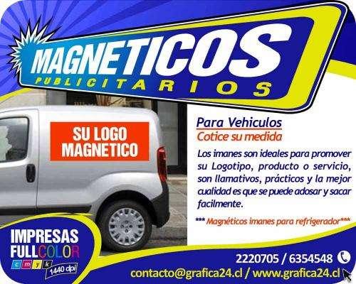 Logotipos magneticos para camionetas, furgones, autos
