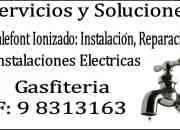 Gasfiteria:  gasfiter a domicilio. antofagasta