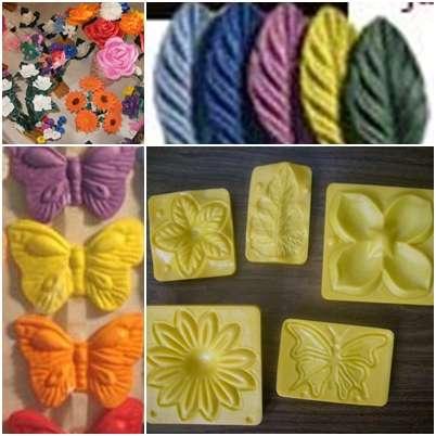 8a4c311f798 Moldes frisadores para hacer flores de goma eva termoformadas en ...