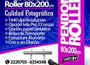 PENDONES  ROLLER           Grafica24