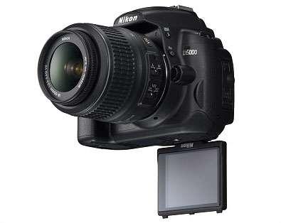 Camara fotografica digital nikon d 5000 mas zoom 55:200