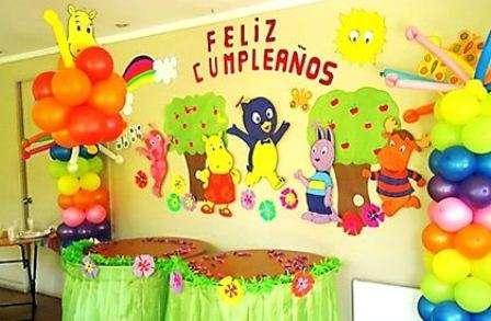 Ambientaciones temáticas para cumpleaños
