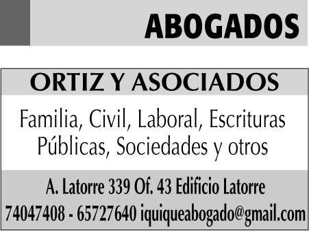 Abogados especialistas en derecho de familia, civil, comercial, laboral y cobranza judicial.