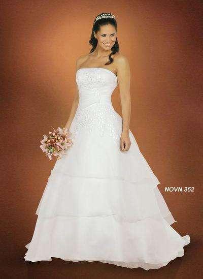 Vendo hermoso vestido de novia talla 38