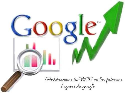 Diseño paginas web: paginas web y posicionamiento web en google
