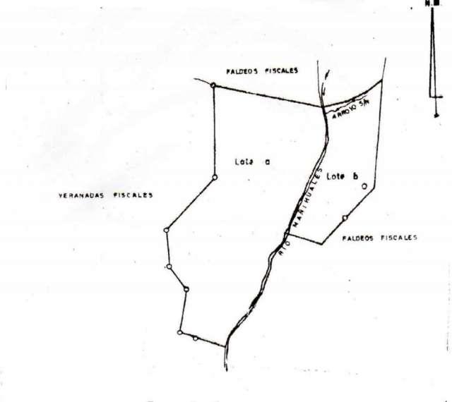En la comuna aysén, 269 hectáreas, $42.000.000