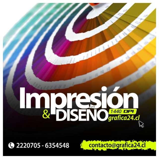 Impresion digital alta definicion + diseño grafico