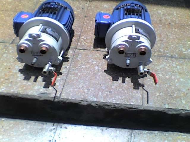 Bombas de vacio sello hidraulico y centrales de vacio o v t