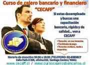 ¡¡Eres desempleado inscribete a un curso de cajeros y desarrollo financiero!!