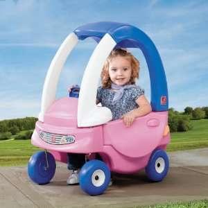 Auto de niña toddle tune coupe rosado (nuevo)