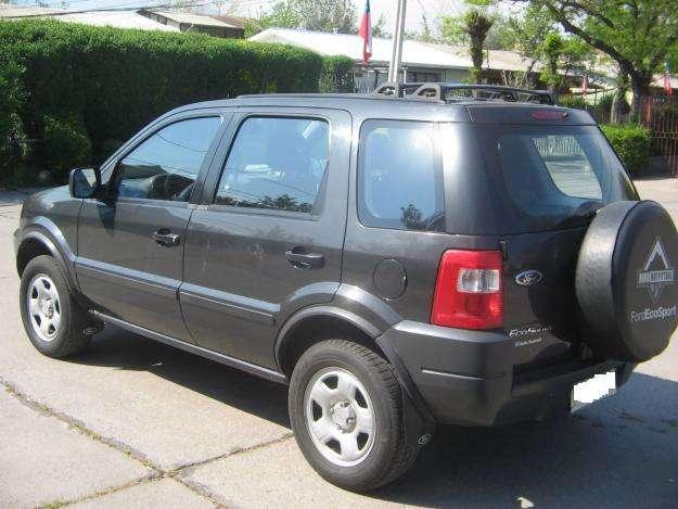 Vendo ford ecosport año 2007 único dueño